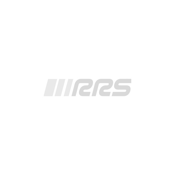 Volant voiture RRS tulipage 90mm 3 branches Carbon Look Orange