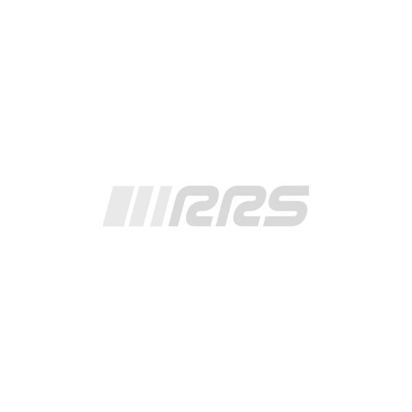 Volant pour voiture rallye CORSA 3 branches peau retournée rouge